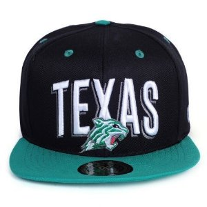 Boné Other Culture Snapback Texas preto / Verde
