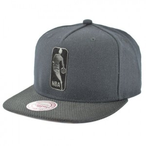 Boné Mitchell & Ness Snapback NBA Logo Bellair - Preto