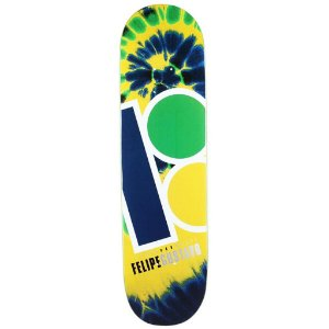 SHAPE PLAN B SKATEBOARDS FELIPE GUSTAVO TIE DYE PROSPEC DECK 7.75''
