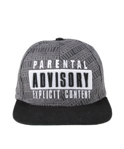 Boné Snapback Parental Advisory