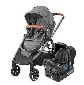 Carrinho + Bebê Conforto Anna 2 TS Sparkling Grey - Maxi Cosi