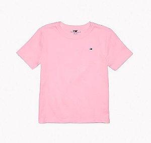 Camiseta algodão Rosa - Tommy Hilfiger