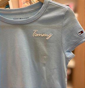 T-shirt feminina Azul - Tommy Hilfiger