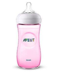 Mamadeira Avent pétala rosa - 330 ml