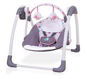 Cadeira de Descanso Automática Plush Toys Rosa - Mastela