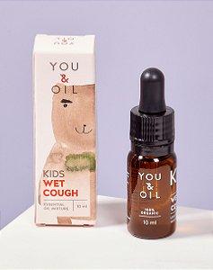 Blend Óleo Essencial Orgânico Infantil Tosse com secreção - You & Oil