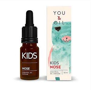 Blend Óleo Essencial Orgânico Infantil Congestão Nasal com secreção - You & Oil