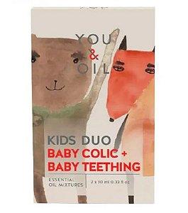 Kit Blend Oleos Essenciais Cólica Infantil + Primeiros Dentes - You & Oil