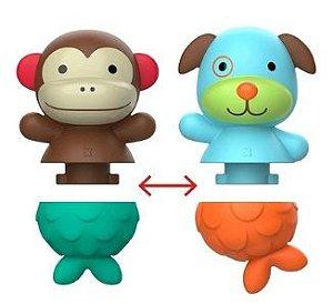 Brinquedo Para Banho Mix e Match Macaco e Cachorro - Skip Hop