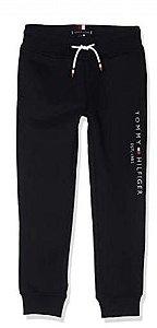 Calça Moletom Jogger Logo Marinho- Tommy Hilfiger