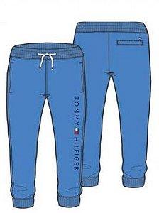 Calça Moletom Jogger Logo Azul - Tommy Hilfiger