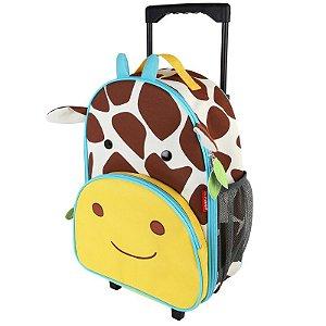 Mochila de Rodinhas Skip Hop Girafa personalizada com nome