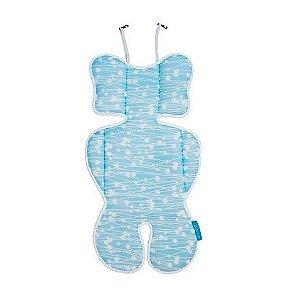 Almofada para Bebe Conforto Azul - Clingo