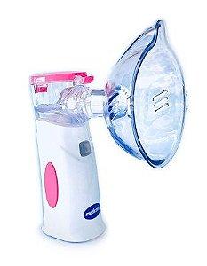 Inalador Air Mash Colors com bateria recarregável Rosa - Medicate
