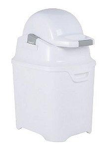 Lixeira OdoCare Anti-odor Branca- Kiddo