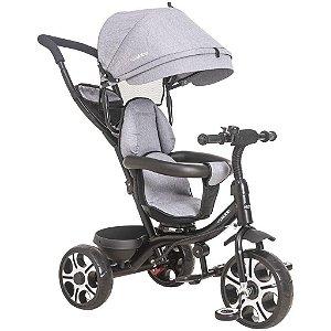Triciclo Giratório 360 passeio e pedal 2 em 1 - Kiddo