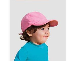Boné Baby Colors com Proteção Solar Rosa - UV LINE