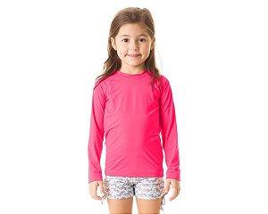Camiseta com Proteção Solar UV Pro Pink - UV LINE