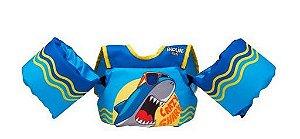 Colete Infantil Salva Vidas Homologado Crazy Shark - Prolife