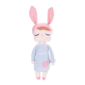 Boneca MeToo Doll Angela Cinza Personalizada com nome