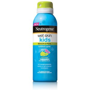 Protetor Solar Neutrogena Wet Skin Kids Spray