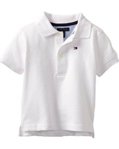 Polo branca Tommy Hilfiger