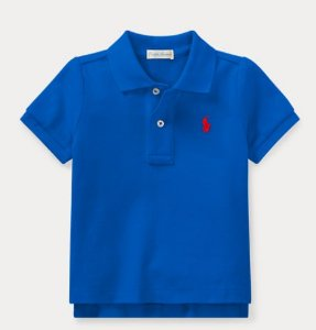 Polo Piquet Ralph Lauren - Azul
