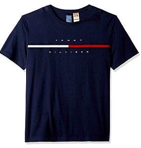 Camiseta bandeira azul - Tommy Hilfiger
