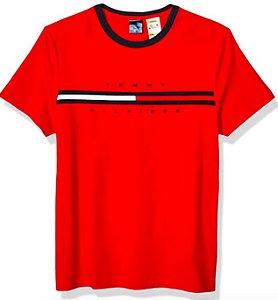 Camiseta bandeira vermelha - Tommy Hilfiger
