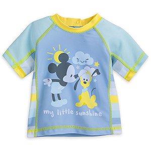 Camiseta de banho Disney Mickey Mouse com FPS 50+