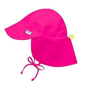 Chapéu australiano com Protecao Iplay Pink 9-18 meses