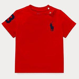 Camiseta algodão Ralph Lauren - Vermelha