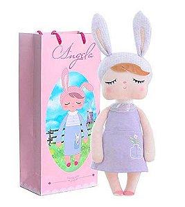 Boneca MeToo Doll Angela lilás Personalizada com nome