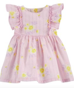 Vestido Sparkle floral Oshkosh