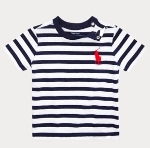 Camiseta algodão Ralph Lauren - Navy Azul