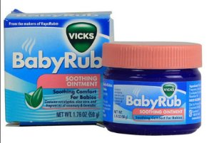Vicks BabyRub descongestionante