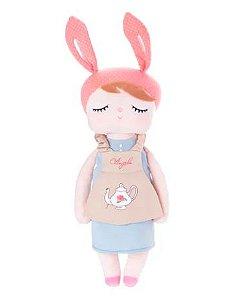 Boneca MeToo Angela Retrô Bunny personalizada com nome