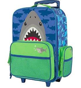 Mochila de Rodinhas Stephen Joseph Tubarão - Personalizado com nome
