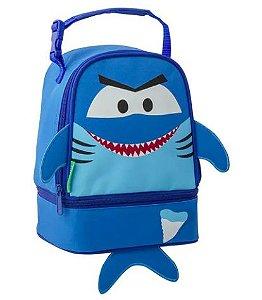 Lancheira Stephen Joseph Tubarão Personalizada com nome