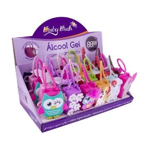 Alcool Gel com Holder 30 ml Baby Bath