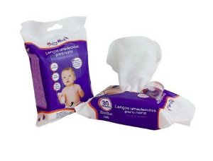 Lenços salinos para Nariz Baby Bath