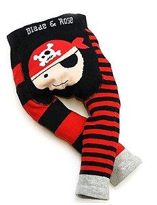 Meia calça de lã Blade and Rose Pirata personalizado com nome