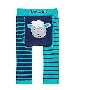 Meia calça lã Blade and Rose ovelha  personalizado com nome