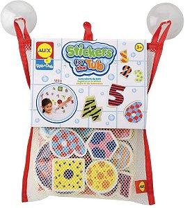 Brinquedo para banho Numeros e formas Alex Toys
