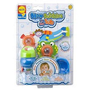 Solta Bolhas Sapo brinquedo de banho Alex Toys