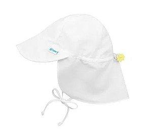 Chapéu Australiano Iplay branco com proteção 50+