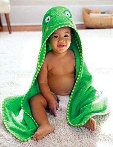 Toalha de banho infantil Sapo Skip Hop