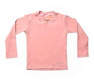 Camiseta de banho Rosé com UV 50+ Bupbaby