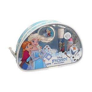 Kit Maquiagem Frozen com necessaire