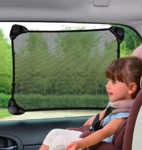 Cortina bloqueador de sol para carro Stretch Safety 1st